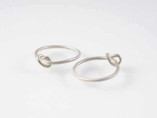 28c Forget Me Knots (ring, silver)